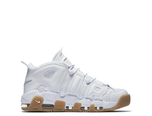 Кроссовки Nike Air More Uptempo White Gum