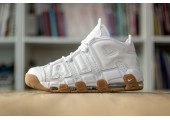 Кроссовки Nike Air More Uptempo White Gum - Фото 3