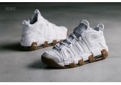 Кроссовки Nike Air More Uptempo White Gum - Фото 2