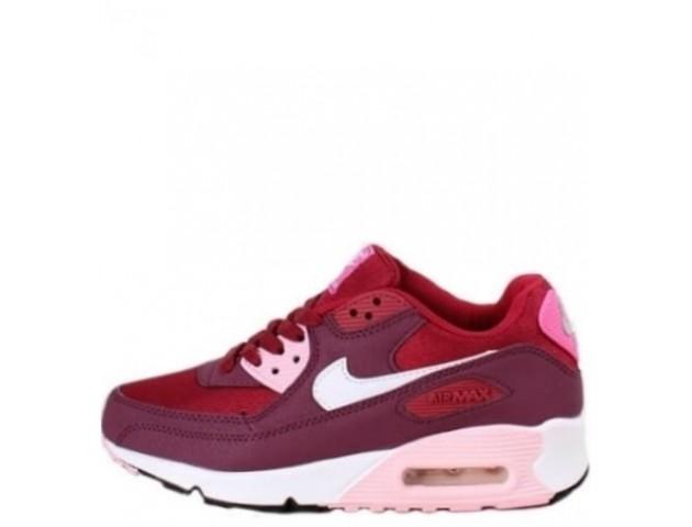 Кроссовки Nike Air Max 90 Purple/Red/White