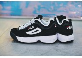 Кроссовки Fila Disruptor II Black/White Pack - Фото 7