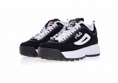 Кроссовки Fila Disruptor II Black/White Pack - Фото 9