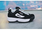 Кроссовки Fila Disruptor II Black/White Pack - Фото 2