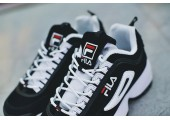 Кроссовки Fila Disruptor II Black/White Pack - Фото 10