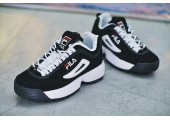 Кроссовки Fila Disruptor II Black/White Pack - Фото 4