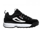 Кроссовки Fila Disruptor II Black/White Pack - Фото 1