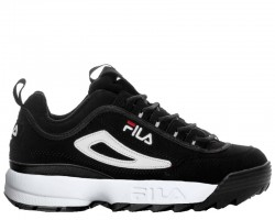 Кроссовки Fila Disruptor II Black/White Pack