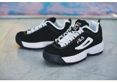 Кроссовки Fila Disruptor II Black/White Pack - Фото 6