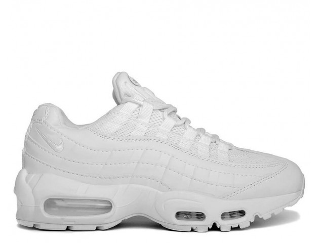 Кроссовки Nike Air Max 95 Leather Triple White