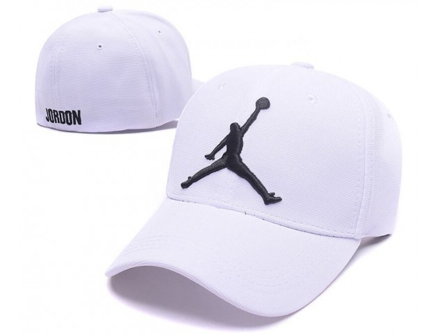 Кепка Air Jordan Baseball White