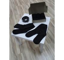 Набор мужских теплых носков черного цвета № 2