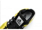 Кроссовки Adidas Equipment Running Guidance 93 Black/White/Yeloow - Фото 3