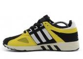 Кроссовки Adidas Equipment Running Guidance 93 Black/White/Yeloow - Фото 1