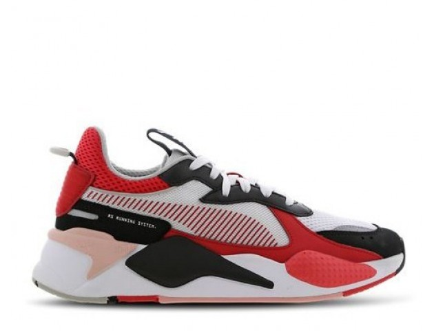 Кроссовки Puma Rs-x Toys Black/Himbiscus/White