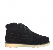 UGG DAVID BECKHAM LACE BOOT BLACK