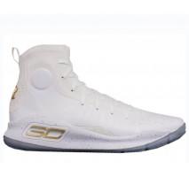 Баскетбольные кроссовки Under Armour Curry 4 Silver White