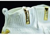 Баскетбольные кроссовки Under Armour Curry 4 Silver White - Фото 4