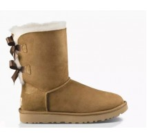 UGG BAILEY BOW II BOOT CHESTNUT