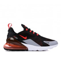Кроссовки Nike Air Max 270 Black/Hyper Crimson/Wolf Grey/Bright Crimsone