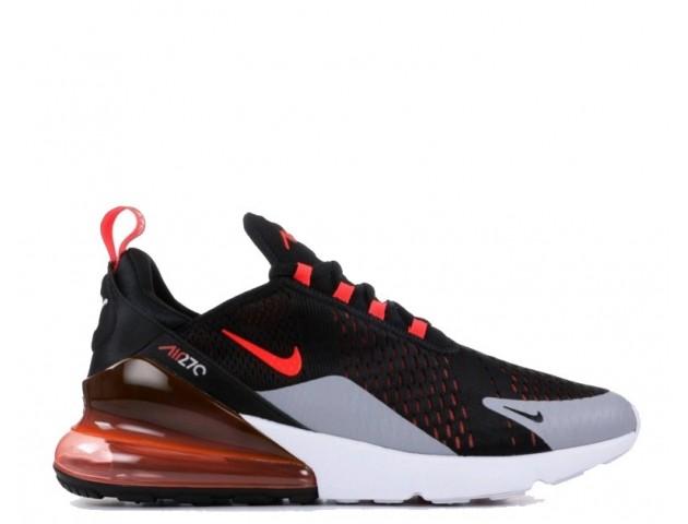 Кроссовки Nike Air Max 270 Black/Hyper Crimson/Wolf Grey/Bright Crimsone