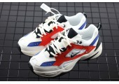 Кроссовки Nike M2K Tekno White/Blue/Red - Фото 2