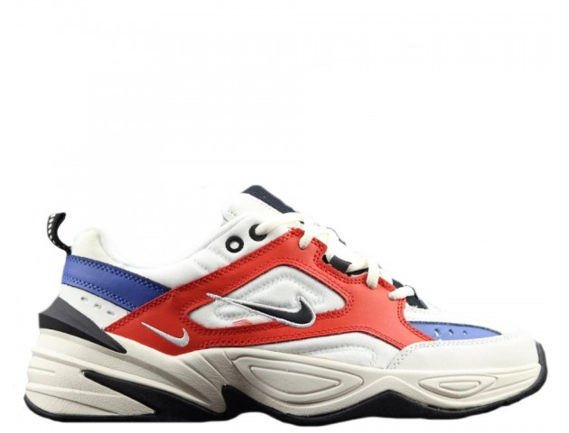 Кроссовки Nike M2K Tekno White/Blue/Red