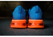 Кроссовки Nike Air Max Flyknit 2015 Blue/Orange - Фото 4