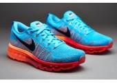 Кроссовки Nike Air Max Flyknit 2015 Blue/Orange - Фото 1