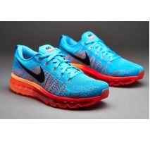 Кроссовки Nike Air Max Flyknit 2015 Blue/Orange