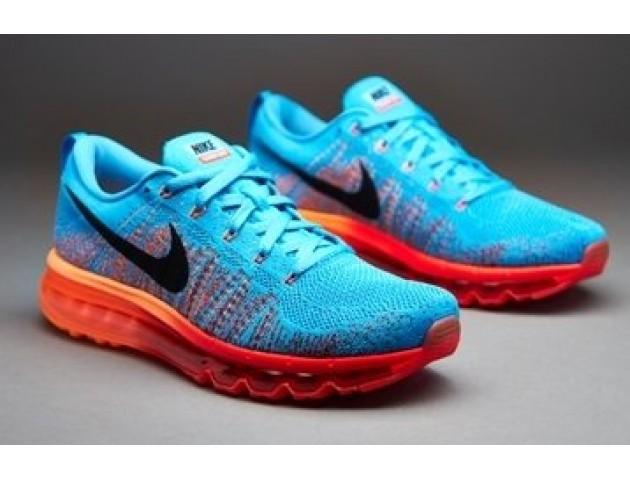 Кроссовки Nike Air Max Flyknit 2015 Blue/Orange