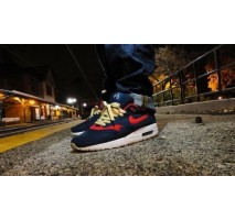 Кроссовки Nike Air Max 87 Omega Pack Obsidian/Sport Red