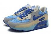 Кроссовки Nike Air Max 90 Bright Blue Jade - Фото 7