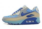 Кроссовки Nike Air Max 90 Bright Blue Jade - Фото 6