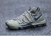Кроссовки Nike KD 10 Dark Stucco/Anthracite - Фото 6