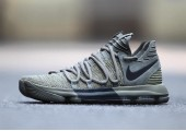 Кроссовки Nike KD 10 Dark Stucco/Anthracite - Фото 7