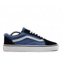Кеды Vans Old Skool Black/Blue Jeans