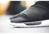 Кроссовки Adidas Y-3 Qasa High Core Black/White - Фото 2