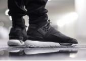 Кроссовки Adidas Y-3 Qasa High Core Black/White - Фото 10