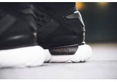 Кроссовки Adidas Y-3 Qasa High Core Black/White - Фото 4