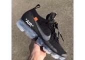Кроссовки Nike Air VaporMax 2.0 Black Off White - Фото 4