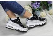 Кроссовки Nike Air Max 95 Black/Grey - Фото 7