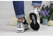 Кроссовки Nike Air Max 95 Black/Grey - Фото 6