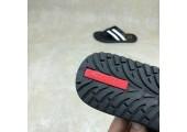 Шлепанцы Adidas Stan Smith City Black/White - Фото 4