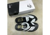 Шлепанцы Adidas Stan Smith City Black/White - Фото 3