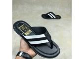 Шлепанцы Adidas Stan Smith City Black/White - Фото 1