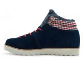 Кроссовки Adidas Seneo Rugged Navy С МЕХОМ - Фото 1