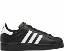 Кроссовки Adidas Superstar II Black/White