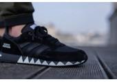Кроссовки Neighborhood x Adidas Boston Super Black - Фото 3