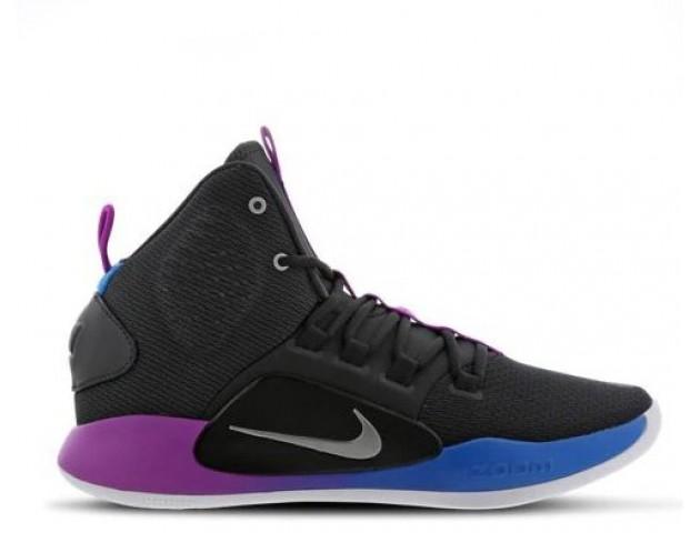 Баскетбольные кроссовки Nike Hyperdunk X Black/Violet