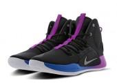 Баскетбольные кроссовки Nike Hyperdunk X Black/Violet - Фото 6